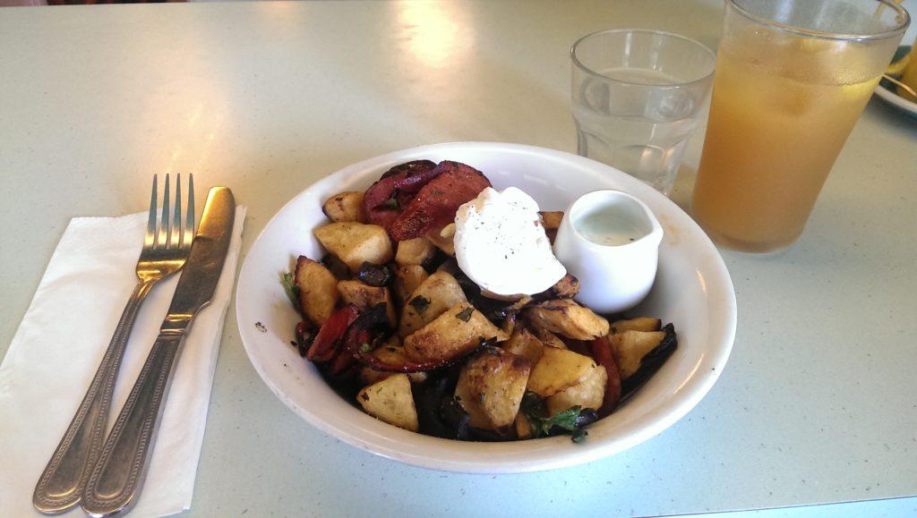 The Breakfast Club Chorizo Hash