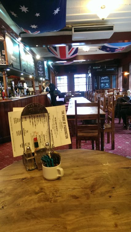 The Pride of Paddingtion Pub