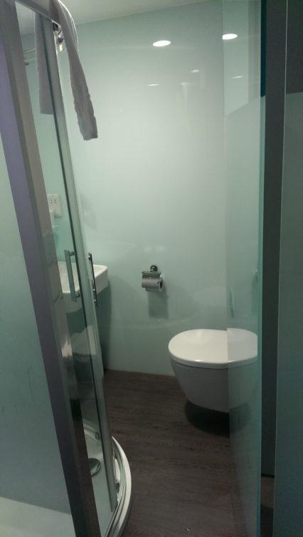 easyHotel Birmingham Toilette