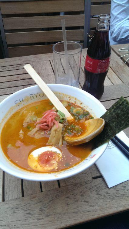 Shoryu Ramen Curry Ramen