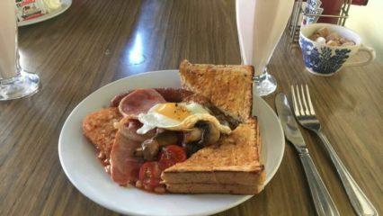 Full English Breakfast at Cherry Reds
