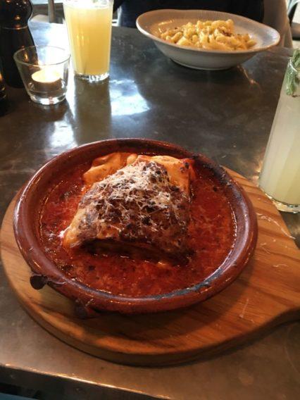 Lasagne at Jamie's Italian