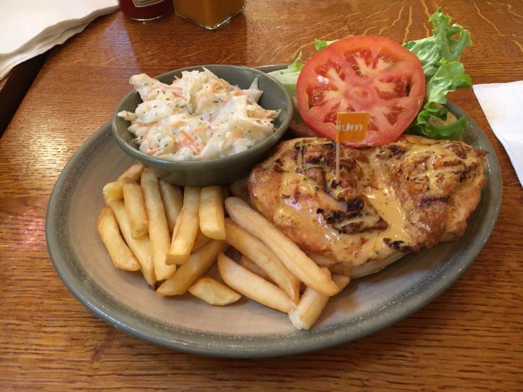 Nandos Piri Piri Chicken Burger