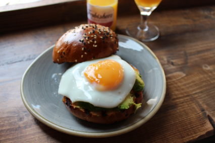Avocado and Egg Sandwich Yorks Birmingham