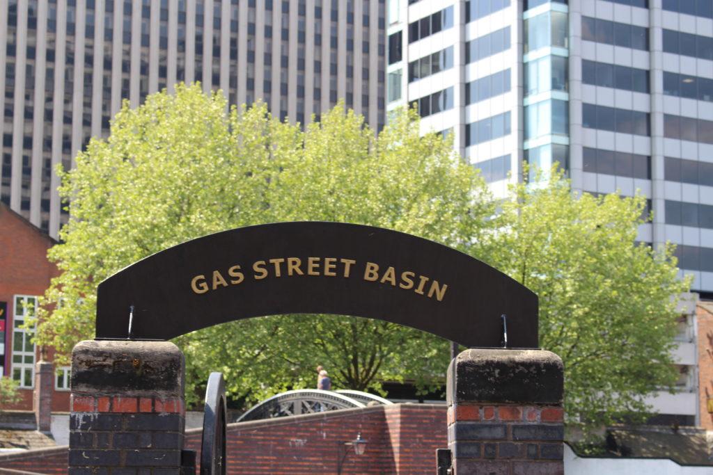 Gas Street Basin Birmingham
