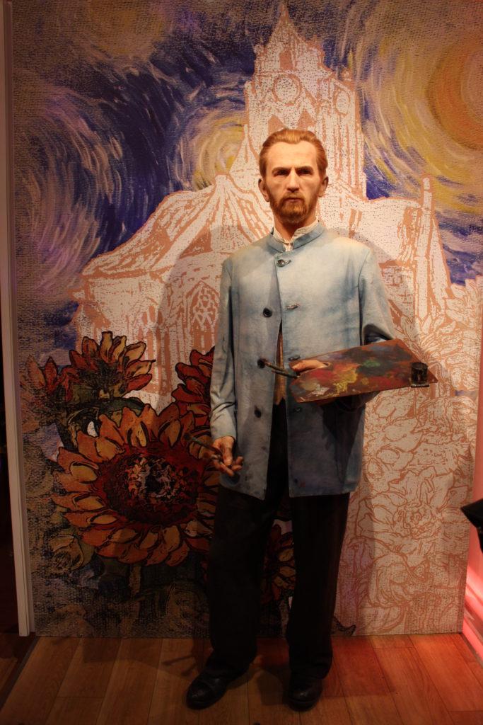 Van Gogh Madame Tussauds