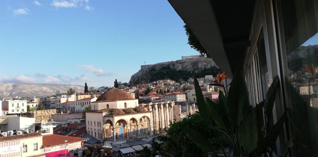 360 Degrees Athen Aussicht