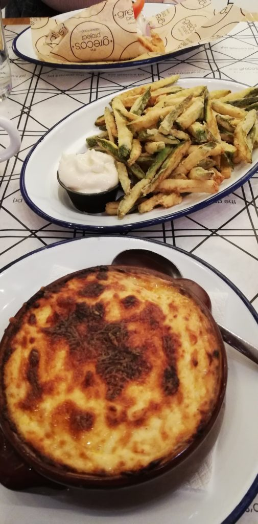 The Greco's Project Moussaka