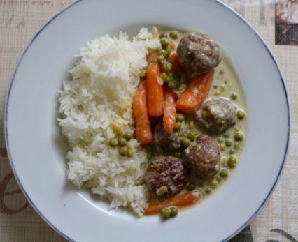 Wikingertopf mit Reis