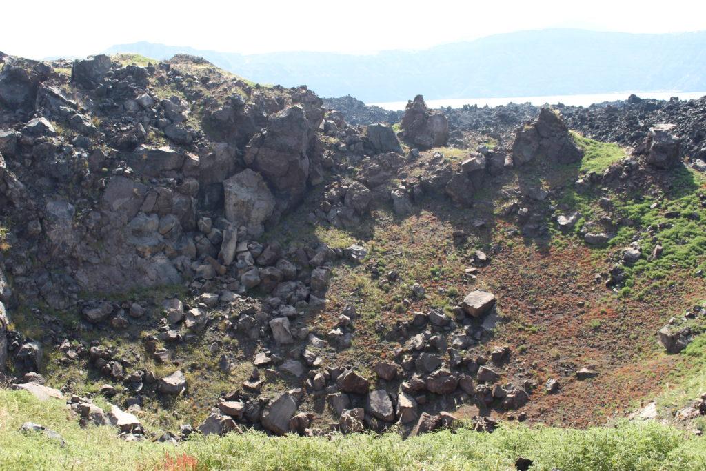 Vulkankrater Nea Kameni