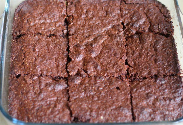 saftige Brownies ohne Milch und Mehl