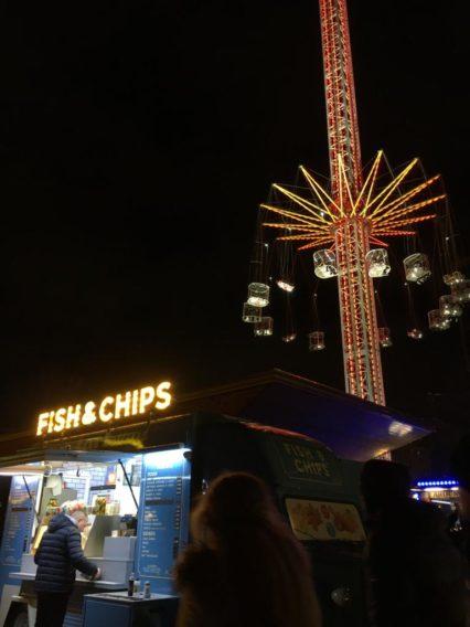 Weihnachtsmarkt beim London Eye