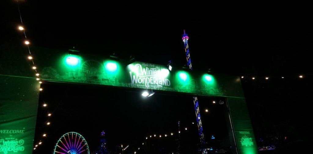 Winter Wonderland im Hyde Park