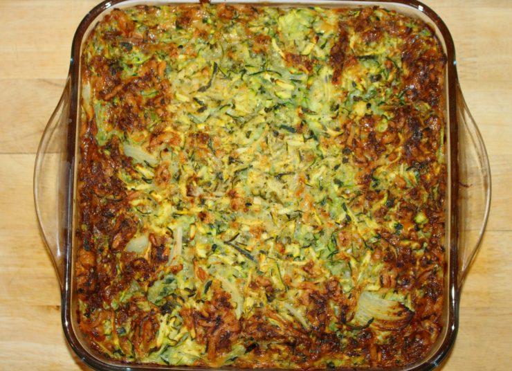 vegetarischer Zucchini Auflauf