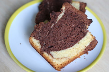 Grundrezept Rührteig Marmorkuchen