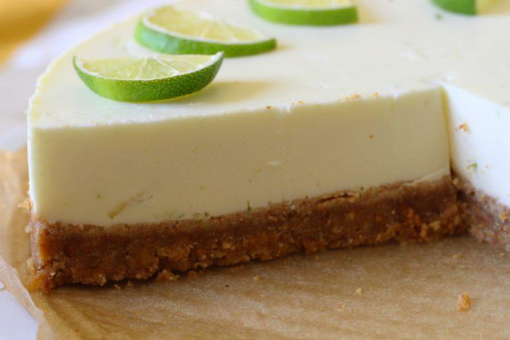 No Bake Mojito-Torte