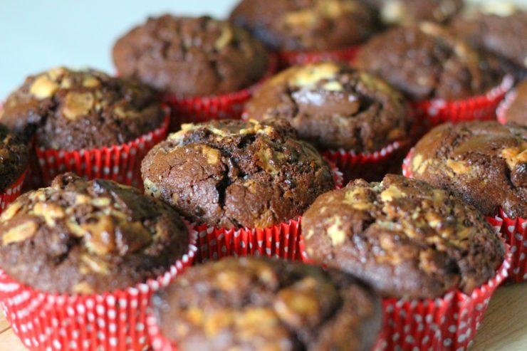 Tripple Chocolate Muffins