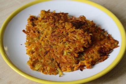 leckere Kürbis-Kartoffelrösti