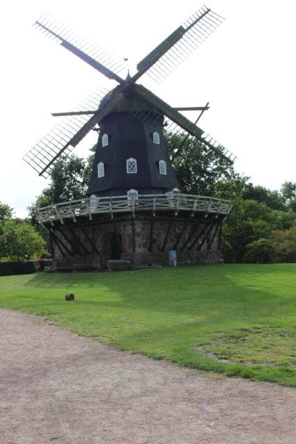Slottsmöllan in Slottsträdgården