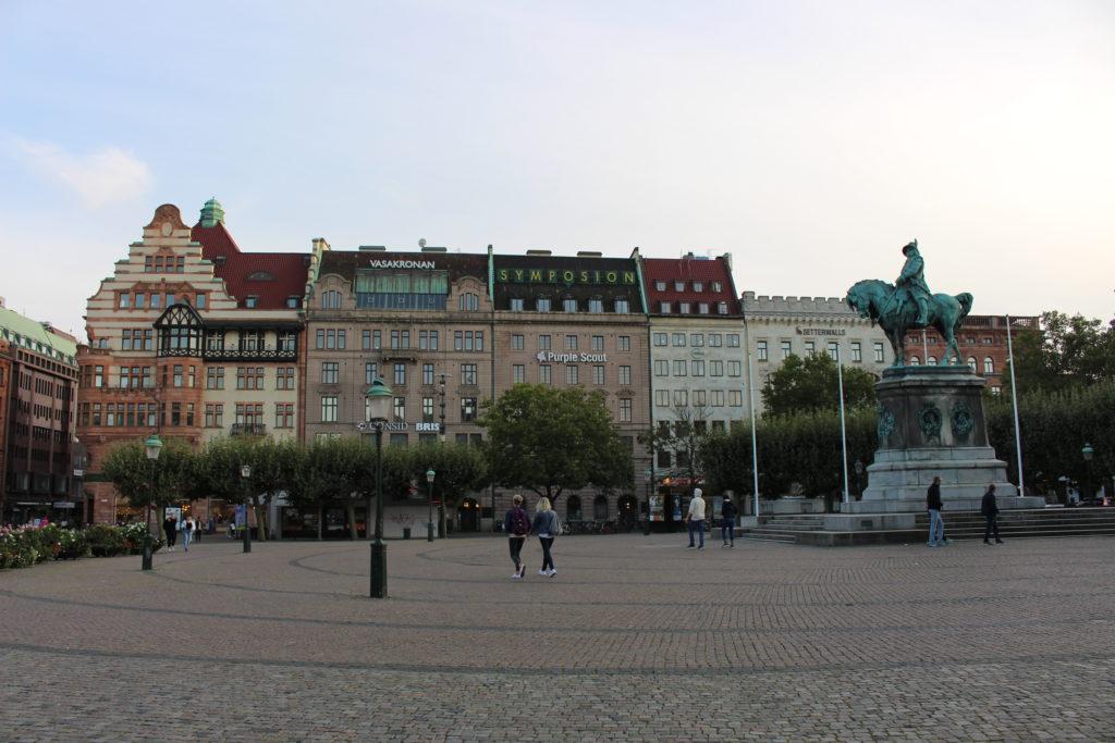 Plaza Stortorget = Rathausplatz