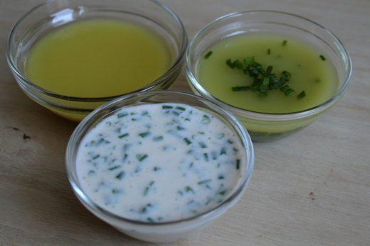 Salatmarinade für rohe Salate