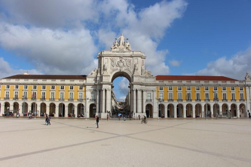 Arco da Rua Augusta am Praça do Comércio