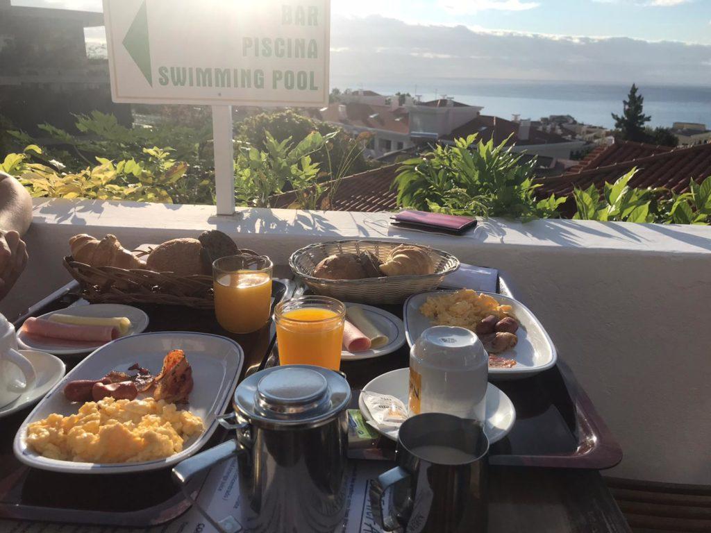 Frühstück GuestHouse Vila Lusitania