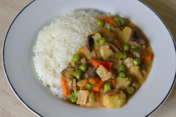 schnelles, einfaches Veggie-Curry