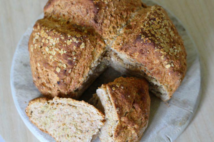 """einfaches und schnell """"Soda Bread""""; Brot ohne Hefe"""