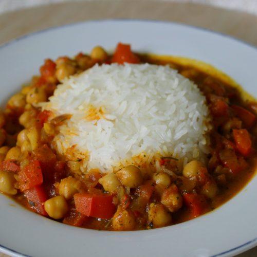 Kokos-Kichererbsen-Curry
