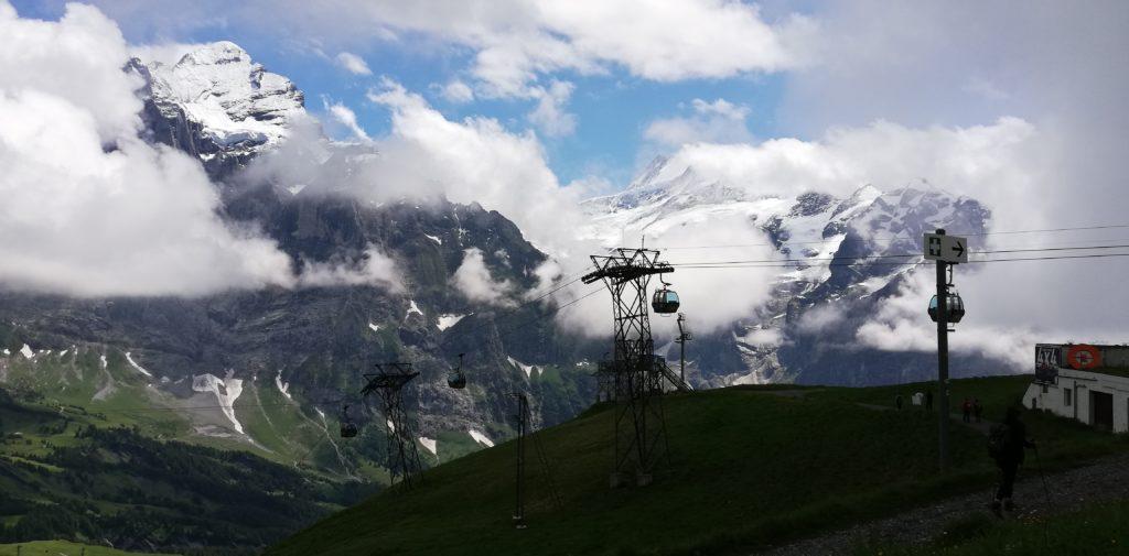 Grindelwald-First Gondel