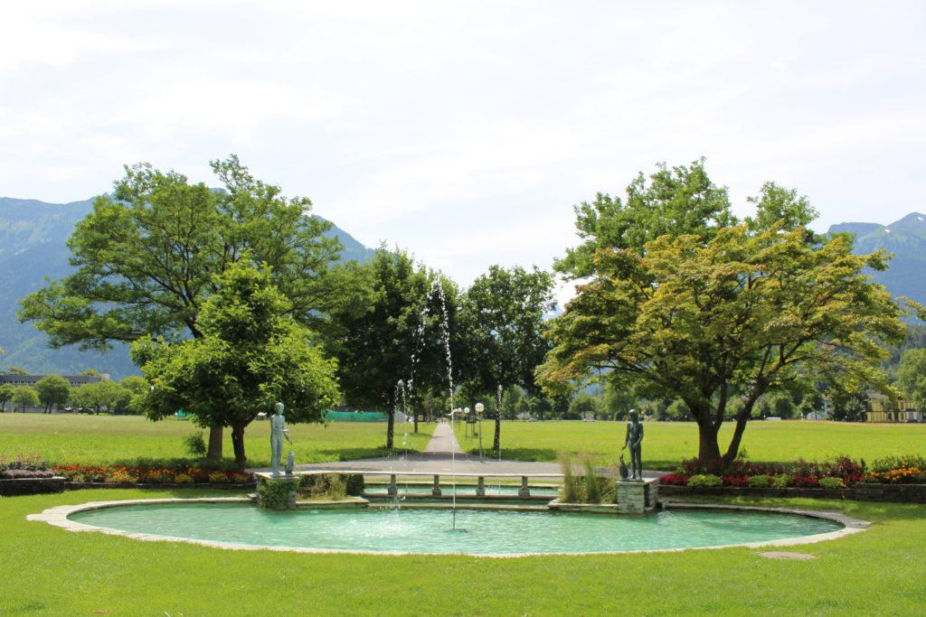 Mersmann-Brunnen am Höheweg